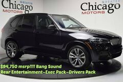 2015 BMW X5 xDrive 50 $94,750 msrp! 1/26/19 or 50k Warranty! Rear Tv's~Bang Sound~M Sport ~Exec Pack Chicago IL