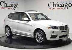2013 BMW X3 xDrive28i one owner sunny florida car!!! loaded!! white on beige!!msport!!! Chicago IL