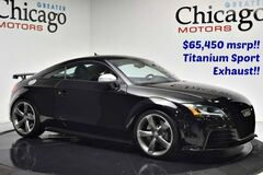 2012 Audi TT RS 2.5t Audis Pocket Rocket!! 1 Owner Carfax Certified Chicago IL