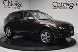 Audi Q5 3.2L Prestige 1 Owner Carfax Certified !rare brown!! loaded with options 2012