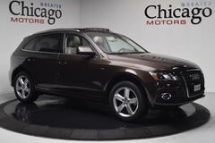 2012 Audi Q5 3.2L Prestige 1 Owner Carfax Certified !rare brown!! loaded with options Chicago IL