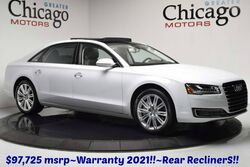 Audi A8 L Warranty until 01/21 $97,7 Audi Design Edition~Exect Package~Rear Recliners 2016