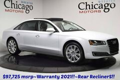 2016 Audi A8 L Warranty until 01/21 $97,7 Audi Design Edition~Exect Package~Rear Recliners Chicago IL