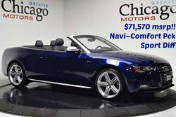 Audi S5 Premium Plus $71,570 msrp 12k in options!! Nav~Comfort Pack~Sports DIff!! 2013