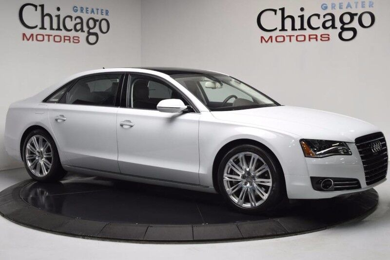 2014 Audi A8 L 4.0T $113,845 msrp! Loaded Warranty Until 9/17 Bang Sound/ Audi Design Select Package Chicago IL
