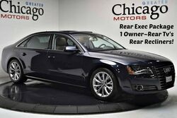 Audi A8 L 1 Owner Carfax Certified Rear Tv's~Rear Recliners! 2014