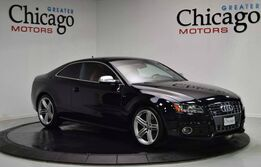 Audi S5 Prestige ONLY 2 OWNERS! LOCAL TRADE!! CLEAN CARFAX!!LOADED! BLACK ON RED!!! 2010