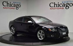 2010 Audi S5 Prestige ONLY 2 OWNERS! LOCAL TRADE!! CLEAN CARFAX!!LOADED! BLACK ON RED!!! Chicago IL