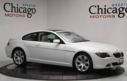 BMW 645 2 Owner Sport Package Carfax Certified~Heads Up Display!! 2005