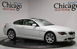 2005 BMW 645 2 Owner Sport Package Carfax Certified~Heads Up Display!! Chicago IL