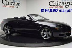 2007 BMW m6 $114,990 msrp Super Clean Inside out Black Merino Leather~Heads Up~Carfax certified Chicago IL