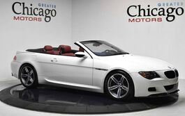 BMW 6 Series M6 SUPER CLEAN!!CLEAN CARFAX GREAT SERVICE HISTORY!!LOADED WITH OPTIONS!HOTTT WHITE ON RED!! 2007