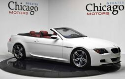 2007 BMW 6 Series M6 SUPER CLEAN!!CLEAN CARFAX GREAT SERVICE HISTORY!!LOADED WITH OPTIONS!HOTTT WHITE ON RED!! Chicago IL