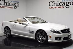 Mercedes-Benz Sl63 Diamond White! $142,410 msrp!! Prem 1 Pack~Pano Roof 2009