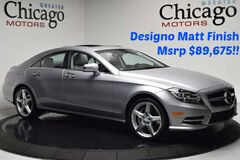 2014 Mercedes-Benz CLS550 Desgino Magno Alantite Gr $89,675 msrp!!! Loaded ! Chicago IL
