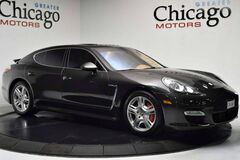 2010 Porsche Panamera Trubo $155,135 Loaded 2 Loaded Carbon Grey Metallic on Cognac Natural Leather Chicago IL