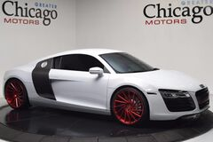 Audi R8 V8 Coupe $149,150 msrp $8550 Vossen Wheels! Lots of Carbon Fiber 2015