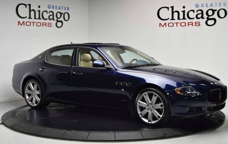 2013 Maserati Quattroporte S 1 OWNER CALI CAR!! LOADED!! CLEAN CAR FAX!! MSRP : $142,489.00 Chicago IL