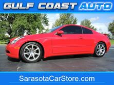 Infiniti G35 Coupe w/Leather! 1-OWNER! FL CAR! ONLY 65K MILES! LOW! CARFAX! SHARP! CLEAN! LOOK! 2004