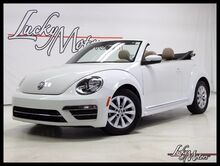 2017 Volkswagen Beetle Convertible 1.8T S Auto Heated Leather Back Up Cam Villa Park IL
