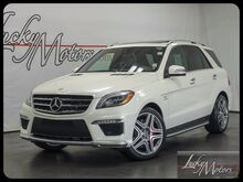 2013 Mercedes-Benz M-Class ML63 AMG 4 Matic AMG Performance Package Villa Park IL