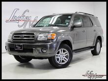 2003 Toyota Sequoia Limited 3rd Row 4WD Clean Carfax! Villa Park IL