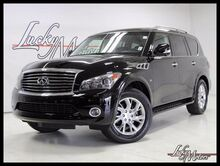2014 INFINITI QX80 Tech Package 1 Owner Clean Carfax! Villa Park IL