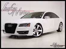 2014 Audi S8 4.0T Quattro B & O Advanced Carbon Int 1 Owner Clean Carfax! Villa Park IL