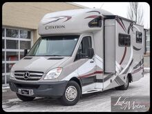 2013 Mercedes-Benz Sprinter Thor Motor Coach Citation Motorhome Villa Park IL