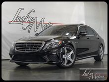 2014 Mercedes-Benz S-Class S63 AMG 4Matic Warmth/Comfort Pkg Drivers Assist Plus Villa Park IL