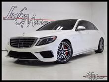 2015 Mercedes-Benz S-Class S 63 AMG Rear Seat Pkg 360 Camera Night Vision 20's Villa Park IL