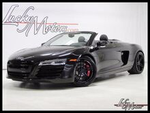 2014 Audi R8 V8 6-Spd 1 Owner Full Nappa Leather Audi Navi Plus Bang & Olufsen Villa Park IL