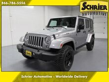 2015 Jeep Wrangler Unlimited Rubicon Bluetooth, Black Targa Top, 6 Speed Omaha NE