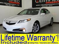 Acura TL V6 SUNROOF LEATHER HEATED SEATS BLUETOOTH REAR A/C POWER LOCKS POWER SEATS 2013