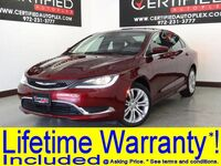 Chrysler 200 LIMITED REAR CAMERA REAR PARKING AID BLUETOOTH KEYLESS START REMOTE START 2015