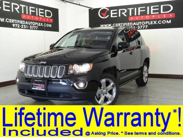 2014 Jeep Compass LIMITED 4WD NAVIGATION SUNROOF LEATHER HEATED SEATS REAR CAMERA Carrollton TX