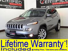 2016 Jeep Cherokee LIMITED LEATHER HEATED SEATS REAR CAMERA BLUETOOTH HEATED STEERING WHEEL Carrollton TX