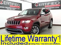 Jeep Grand Cherokee LIMITED LEATHER HEATED SEATS REAR CAMERA REAR PARKING AID BLUETOOTH 2015