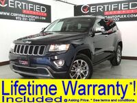 Jeep Grand Cherokee LIMITED 4WD NAVIGATION SUNROOF LEATHER HEATED SEATS REAR CAMERA BLUETOOTH 2014