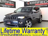 Jeep Grand Cherokee OVERLAND 4WD BLIND SPOT ASSIST COLLISION WARNING ADAPTIVE CRUISE CONTROL 2014