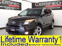 Ford Explorer LIMITED 4WD LEATHER HEATED SEATS REAR CAMERA BLUETOOTH SONY AUDIO REAR A/C 2014