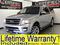 Ford Expedition EL LIMITED LEATHER HEATED/COOLED SEATS REAR CAMERA PARK ASSIST REAR PARKING 2016