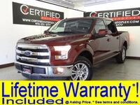 Ford F-150 SUPERCREW LARIAT AWD LEATHER HEATED/COOLED SEATS REAR CAMERA BLUETOOTH 2016