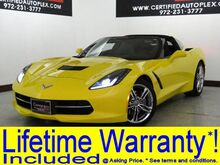 2016 Chevrolet Corvette 3LT V8 HEADS UP DISPLAY NAVIGATION LEATHER HEATED/COOLED SEATS REAR CAMERA Carrollton TX
