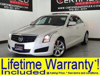 Cadillac ATS 2.0T LUXURY NAVIGATION SUNROOF LEATHER HEATED SEATS REAR CAMERA PARK ASSIST 2014