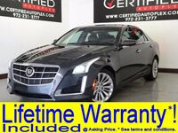 Cadillac CTS TURBO LUXURY CRASH AVOIDANCE SYSTEM LEATHER HEATED/COOLED SEATS REAR CAMERA 2014