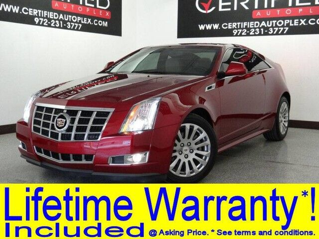 2014 Cadillac CTS COUPE PERFORMANCE BLIND SPOT ASSIST LEATHER HEATED SEATS REAR CAMERA REAR PARKING Carrollton TX