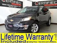 Chevrolet Traverse LT V6 NAVIGATION SUNROOF LEATHER HEATED SEAT PKG QUAD BUCKET SEATS 2014