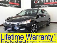 Honda Accord EX-L APPLE CARPLAY SUNROOF LEATHER HEATED SEATS REAR CAMERA BLUE 2016