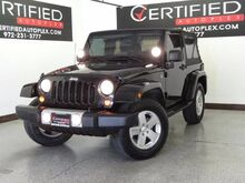 2008 Jeep Wrangler SAHARA CRUISE CONTROL ALLOY WHEELS RUNNING BOARDS 6 SPEED MANUAL Carrollton TX